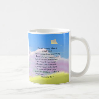 Don't Worry Verse Classic White Coffee Mug