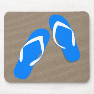 Don't You Step on My Blue Flip Flops Mousepad