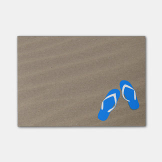 Don't You Step on My Blue Flip Flops Post-It Note