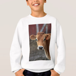 Don't you think I'm Pretty Jersey Cow Sweatshirt