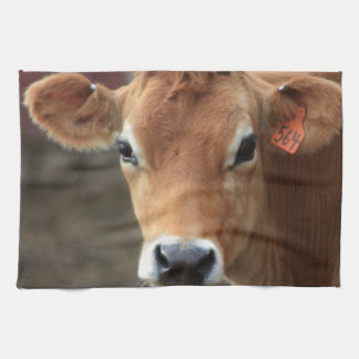 Don't you think I'm Pretty Jersey Cow Tea Towel