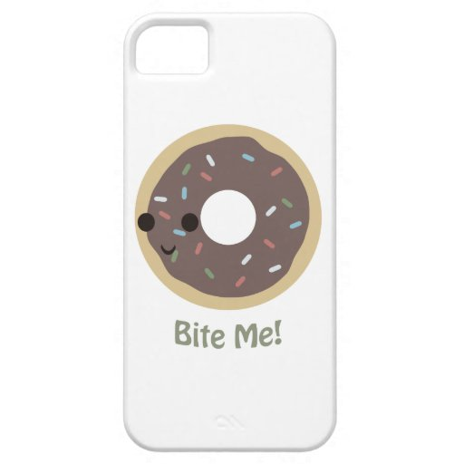 Donut Bite Me! iPhone 5 Cover