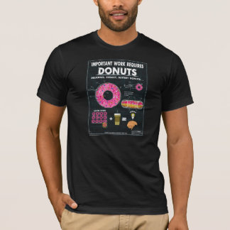 Donut Blueprint T-Shirt