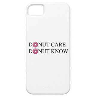 Donut Care Donut Know iPhone 5 Cover
