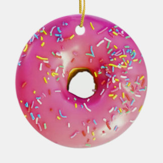 Donut Christmas Ornament