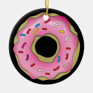 Donut Christmas Ornament
