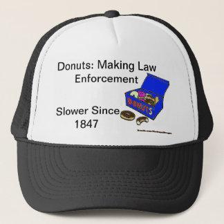 Donut/Cop History Cap