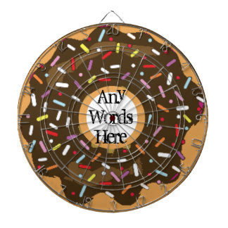 Donut Dartboard Candy Lover Gift Fun Personalised