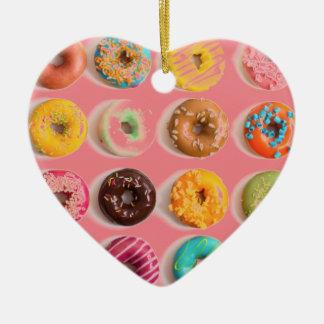 donut design christmas ornament