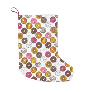 Donut Doughnut Breakfast Donuts Christmas Stocking