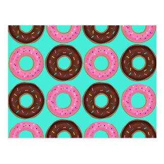 Donut Frenzy Postcard