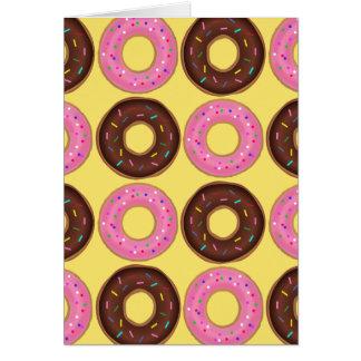 Donut Happy Birthday Card