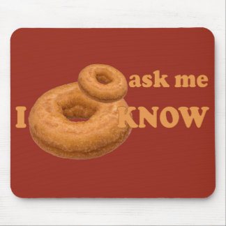 Donut Humor custom mousepad