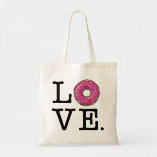 Donut Love Funny Food Tote Bag