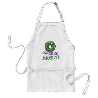 Donut Make Me Angry Funny doughnut Standard Apron