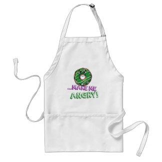 Donut Make Me Angry Funny doughnut Standard Apron