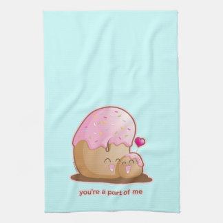 Donut Pair Tea Towel