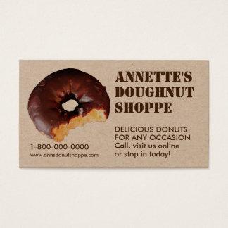 Donut Photo Doughnut Shop Business Cards