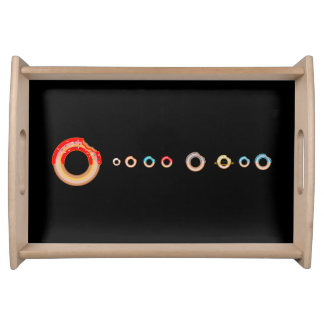 Donut Planets Serving Tray