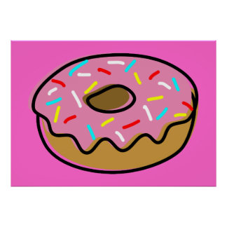 Donut Posters