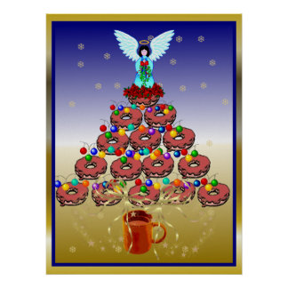 Donut Tree Posters