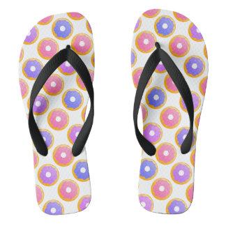 Donut with Sprinkles - Flip Flops