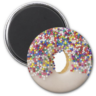 donut with sprinkles magnets