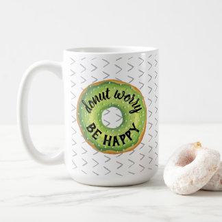 Donut Worry, Be Happy Coffee Mug