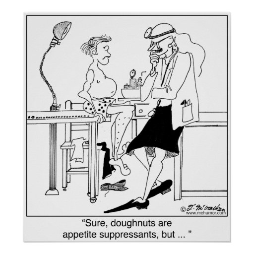Donuts as Appetite Suppressants Posters