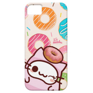 donuts bae bae cats iPhone 5 covers