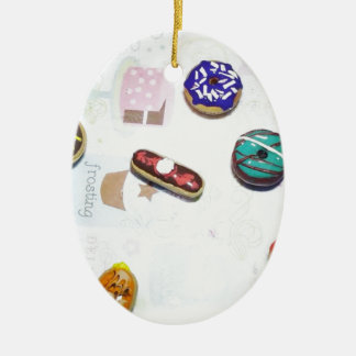 Donuts Christmas Ornament