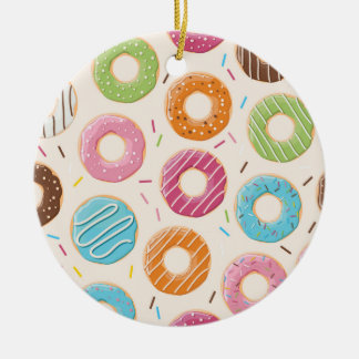 Donuts Circle Ornament