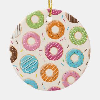 Donuts Circle Ornament