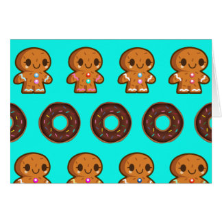 Donuts & coffee card
