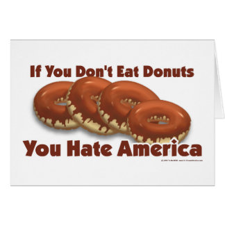 Donuts For America Card