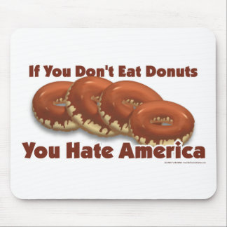 Donuts For America Mouse Pad