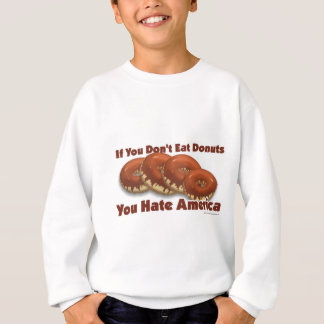 Donuts For America Sweatshirt