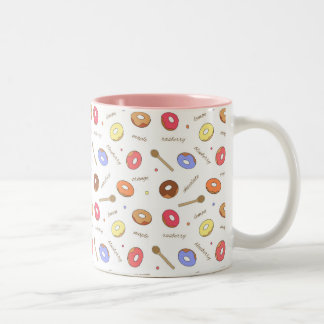 Donuts Homemade 11 oz Two-Tone Mug