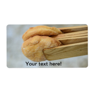 Donuts Shipping Label