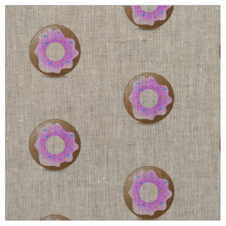 Donuts make me go nuts fabric