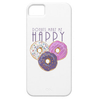 Donuts Make Me Happy iPhone 5 Covers