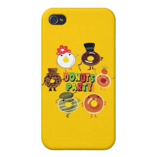 Donuts Party iPhone 4/4S Cover