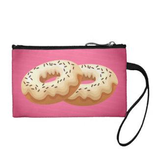 Donuts retro wristlet