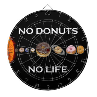 Donuts solar system dartboard