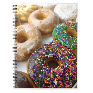 Donuts Spiral Notebook