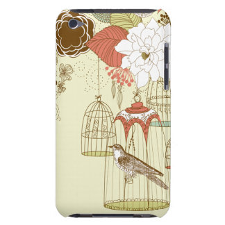 doodle birds iPod Case-Mate case