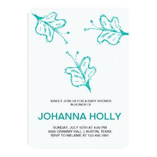 doodle butterflies 13 cm x 18 cm invitation card