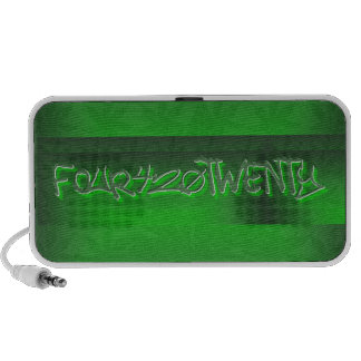 Doodle by OrigAudio™ FOUR420TWENTY COLLECTION iPod Speakers