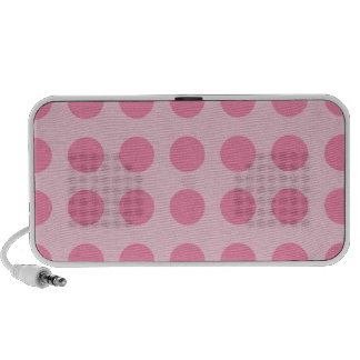 Doodle by OrigAudio, Portable Speaker, Pink Dots