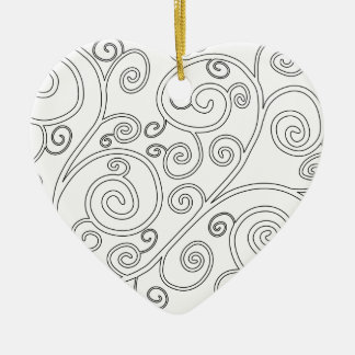 Doodle Christmas Ornament
